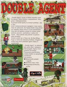 Double Agent - Box - Back