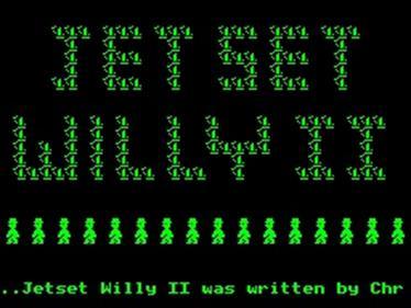 Jet Set Willy 2  - Screenshot - Game Title