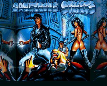 Dangerous Streets - Screenshot - Game Title