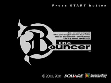 The Bouncer - Screenshot - Game Title