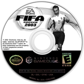 FIFA Soccer 2003 - Disc