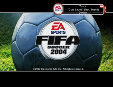 FIFA Soccer 2004 - Screenshot - Game Title