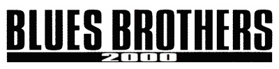 Blues Brothers 2000 - Clear Logo