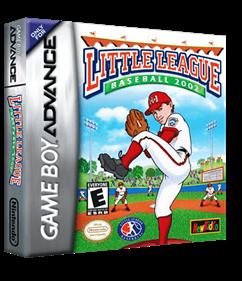 Little League Baseball 2002 - Box - 3D