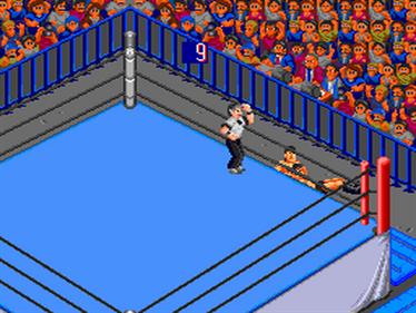 Fire Pro Wrestling 3: Legend Bout - Screenshot - Gameplay