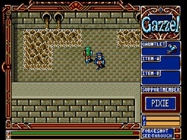 Xak III: The Tower of Gazzel  - Screenshot - Gameplay