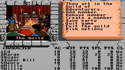 The Bard's Tale Construction Set - Screenshot - Gameplay