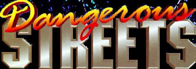 Dangerous Streets - Clear Logo