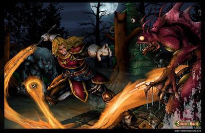 Castlevania II: Simon's Quest - Fanart - Background