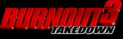 Burnout 3: Takedown - Clear Logo