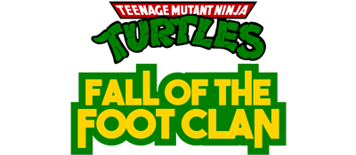 Teenage Mutant Ninja Turtles Fall Of The Foot Clan Details Launchbox Games Database
