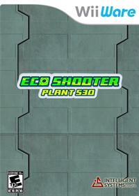 Eco Shooter: Plant 530 - Fanart - Box - Front