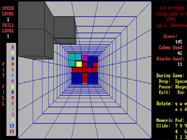 3-D Pitfall - Screenshot - Gameplay