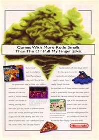 EarthBound - Advertisement Flyer - Front