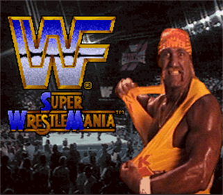 WWF Super WrestleMania - Screenshot - Game Title