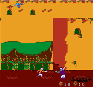 Aladdin II - Screenshot - Gameplay