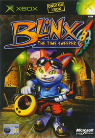 Blinx: The Time Sweeper - Box - Front