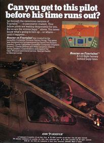 Rescue on Fractalus! - Box - Back