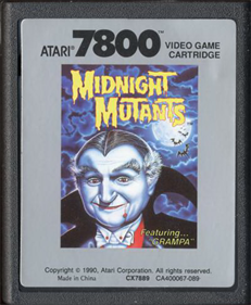 Midnight Mutants - Cart - Front