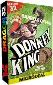 Donkey King - Box - 3D