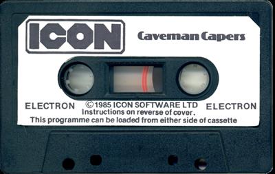 Caveman Capers - Cart - Front