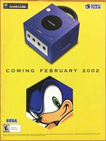 Sonic Adventure 2: Battle - Advertisement Flyer - Front