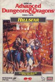 Advanced Dungeons & Dragons: Hillsfar - Box - Front