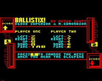 Ballistix - Screenshot - Game Select