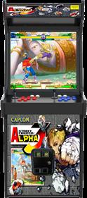 Street Fighter Alpha 3 - Arcade - Cabinet