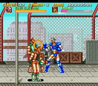 Sonic Blast Man - Screenshot - Gameplay