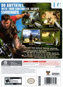 Far Cry Vengeance - Box - Back