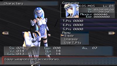 Xenosaga Episode I: Der Wille zur Macht - Screenshot - Gameplay