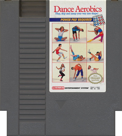 Dance Aerobics - Cart - Front