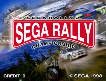 Sega Rally 2 Championship - Screenshot - Game Title