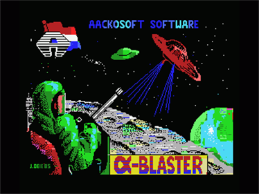 Alpha Blaster - Screenshot - Game Title