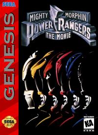 Mighty Morphin Power Rangers: The Movie - Box - Front - Reconstructed