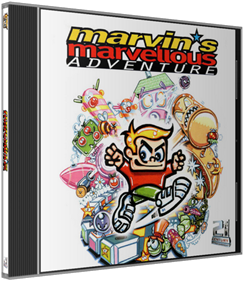 Marvin's Marvellous Adventure - Box - 3D