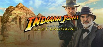 Indiana Jones and the Last Crusade - Banner