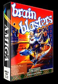 The Brain Blasters - Box - 3D