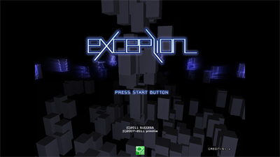 Exception - Screenshot - Game Title