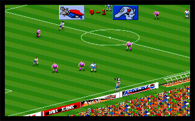 Action Soccer - Screenshot - Gameplay
