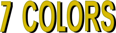 7 Colors - Clear Logo