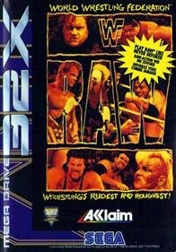 WWF Raw - Box - Front