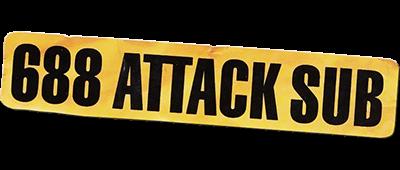 688 Attack Sub - Clear Logo