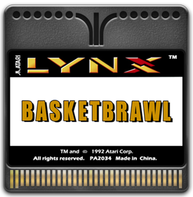 Basketbrawl - Fanart - Cart - Front