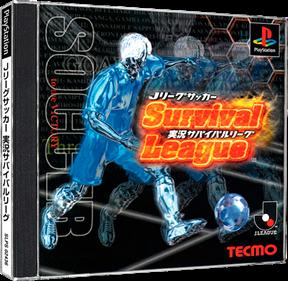 J. League Soccer - Jikkyou Survival League  - Box - 3D