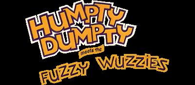 Humpty Dumpty meets the Fuzzy Wuzzies - Clear Logo