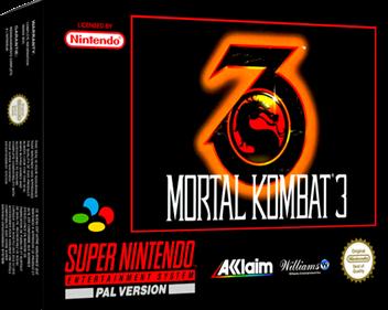 Mortal Kombat 3 - Box - 3D