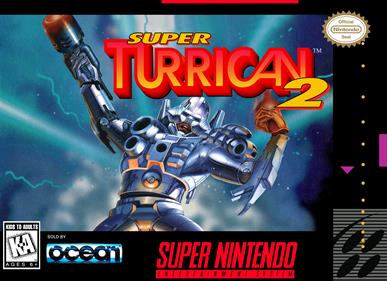 Super Turrican 2 - Box - Front - Reconstructed