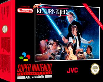Super Star Wars: Return of the Jedi - Box - 3D